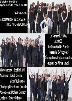 Comédie musicale-Titre provisoire